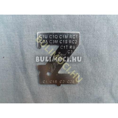 Karburátor szintbeállító szerszám zama 0639