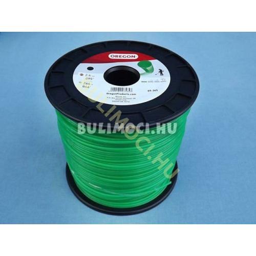 Damil 2,4mm 264m kerek zöld oregon 69-365