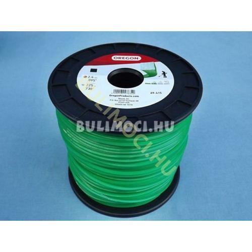 Damil 2,4mm 225m szögletes zöld21827