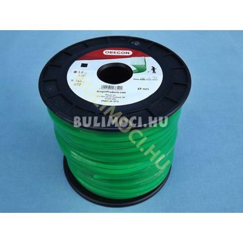 Damil 3,0mm 144m szögletes zöld 21833