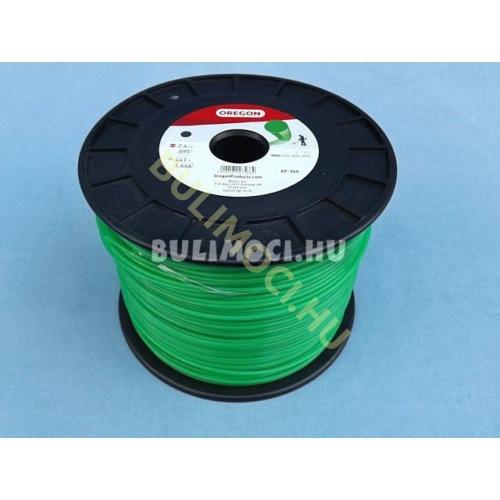 Damil 2,4mm 441m kerek, zöld 21842